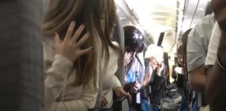 turbulencia en avión argentino