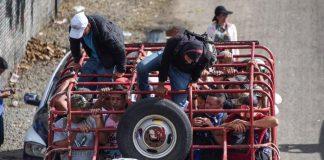 caravana en Huixtla