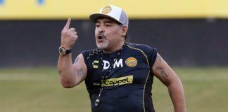 Maradona fue sancionado por su comportamiento violento en la final