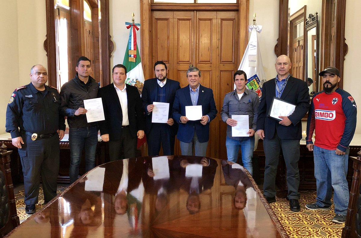 Reunión de seguridad para Clásico Rayados y Tigres