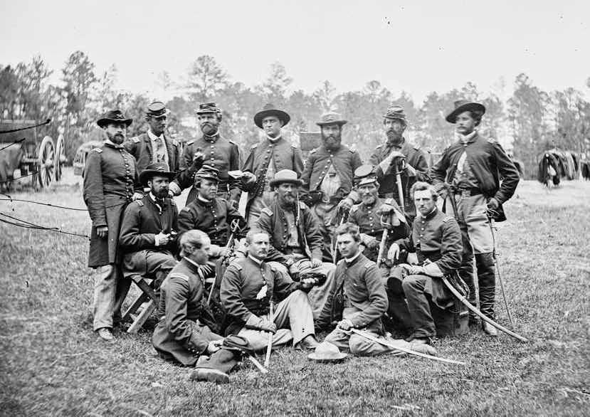 Guerra Civil Estadounidense - Campo Soldados Confederados