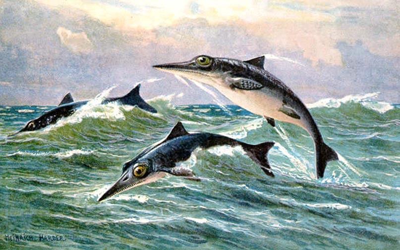 Ilustracion-Ictiosaurios