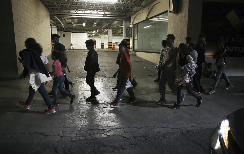 migrantes en monterrey