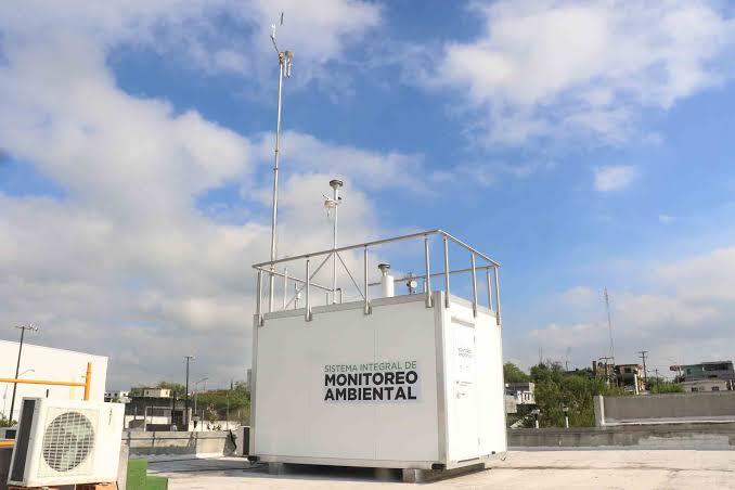 estacion de monitoreo ambiental monterrey
