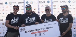 Parrilleros baten récord mundial de carne asada