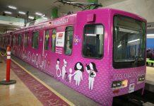 vagon rosa metro mtrorrey