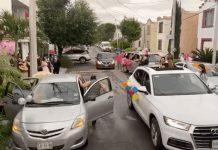 (Video) Quinceañera celebra su fiesta con sana distancia
