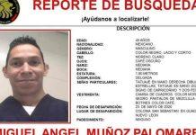 Piden ayuda para encontrar a enfermero desaparecido en Guadalupe