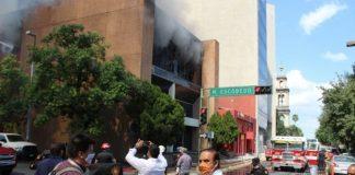 Incendio en Tesorería ya está bajo investigación