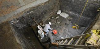 Descubren palacio donde murió Moctezuma