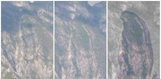 Ahora aparece virgen en el Cerro de las Mitras