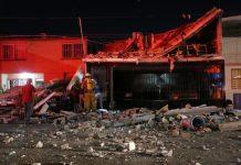 Fuga de gas provoca explosión en casa de San Nicolás