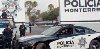 policia monterrey 3 muertos