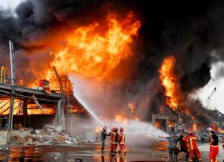 Pánico en Beirut por nuevo incendio