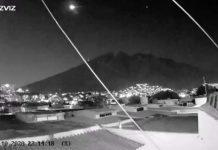 ¿Meteorito ilumina el cielo de Nuevo León?