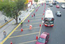 Regios dan visto bueno a ciclovía en Av. Cuauhtémoc