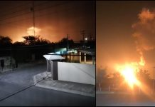 Explota gasoducto de Pemex en Nuevo León