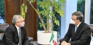 Presidente de Argentina llega a México para reunirse con AMLO
