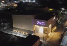 Inauguran el Teatro Municipal de Allende, tras permanecer en obra gris desde el 2014