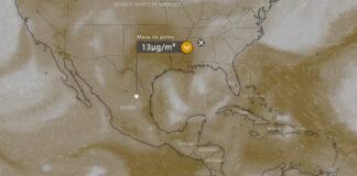 polvo del sahara monterrey contaminacion