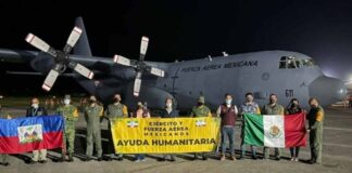 México envía 3 aviones con 29 toneladas de ayuda humanitaria a Haití