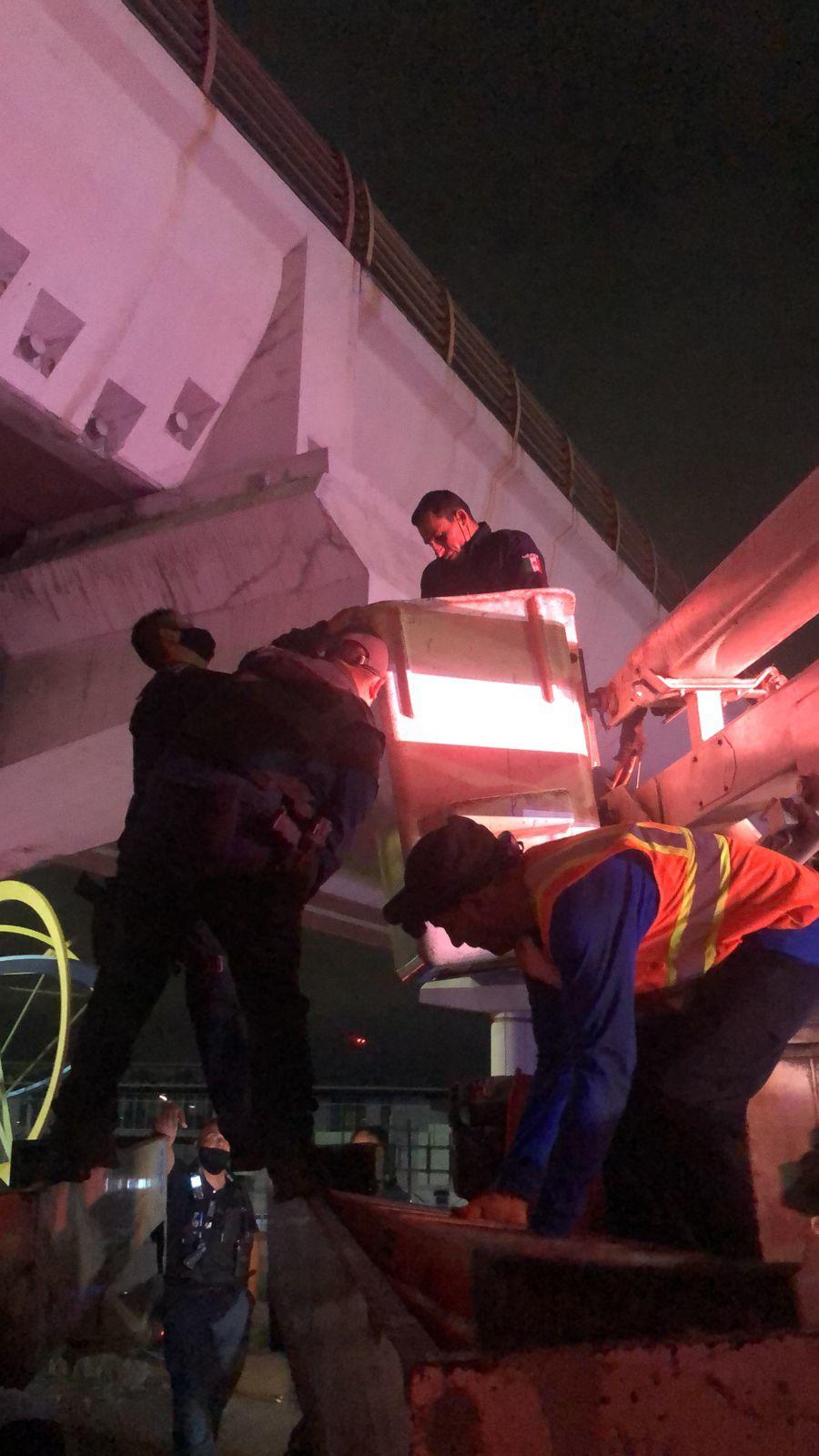 rescate metro